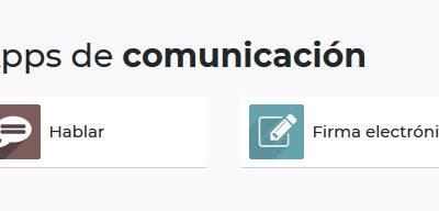 Aplicaciones de comunicación en Odoo