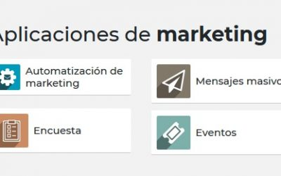 Aplicaciones de marketing en Odoo