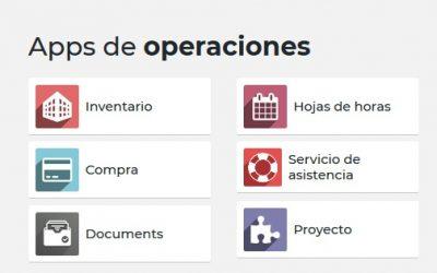 Aplicaciones de operaciones en Odoo