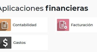 Aplicaciones financieras en Odoo
