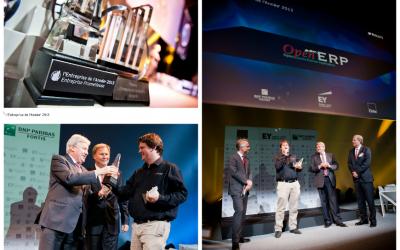 Tres premios para OpenERP en 2013
